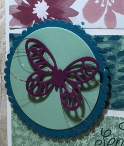 Blooms & Bliss, Layering Circles, Bold Butterfly framelits, Stampin' Up!, BJ Peters, #blooms&bliss, #layeringcircles, #boldbutterfly, #bjpeters, #stampinbj.com