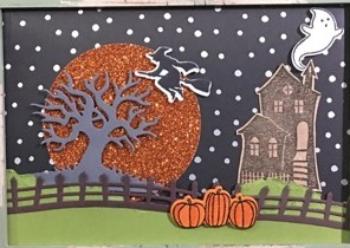 Spooky Fun, Halloween NIght, Halloween Scares, Halloween Scenes, #HalloweenScenes, #spookyfun, #halloweenscares, #halloweennight, #bjpeters, #stampinbj.com
