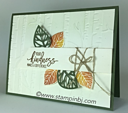 Thoughtful Branches, Stampin' Up!, BJ Peters, Woodland, #thoughtfulbranches, #woodland, #bjpeters, #stampinbj.com