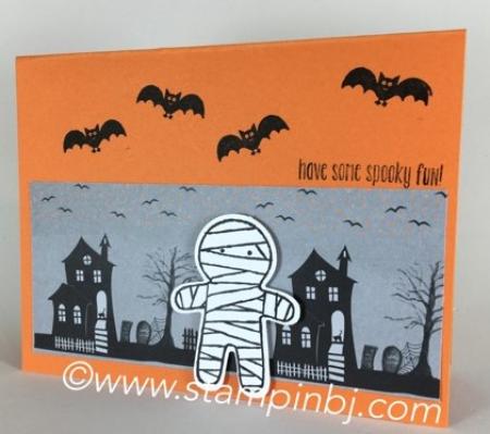 Cookie cutter halloween, Stampin' Up!, #cookiecutterhalloween, #stampinbj.com, #bjpeters