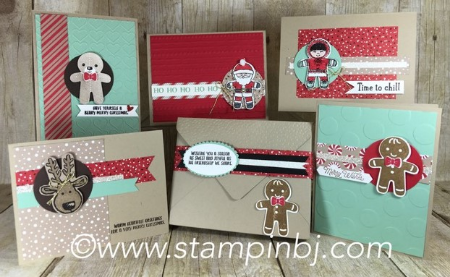 Cookie Cutter Christmas, Stampin' Up!, BJ PEters, #cookiecutterchristmas, #bjpeters, #stampinbj.com, #christmascard, #stampingclassinthemail, #stampinupclassinthemail