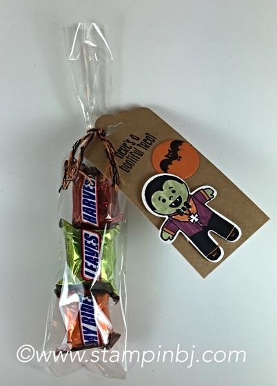 Cookie Cutter Halloween, Stampin' Up!, Halloween Treat, #cookiecutterhalloween, #halloweentreat, #stampinup, #bjpeters, #stampinbj.com