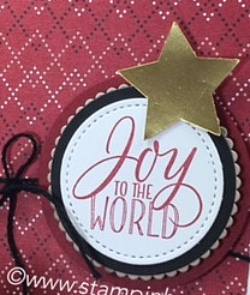 Tin of Tags, Warmth & Cheer, Stampin' Up!, BJ Peters, #warmth&cheer, #tinoftags, #christmascard, #stampinup, #bjpeters, #stampinbj.com, #candytreat, #yearendcloseout