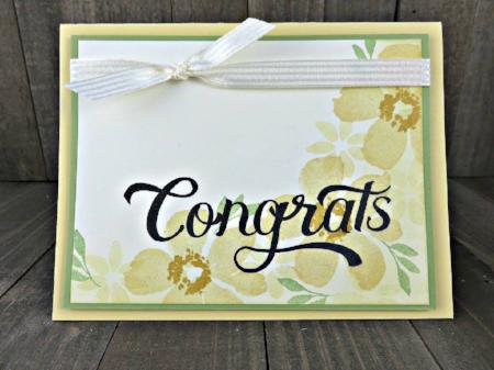 Blooms & Wishes, Double Take, #blooms&wishese, #doubletake, #congratscard, #stampinup, #bjpeters, #stampinbj.com, #handstampedcard, #papercrafts, #stampinupdemo, #stampinuptutorial