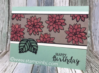 Oh So Succulent, Glimmer Paper, #ohsosucculent, #glimmerpaper, #stampinup, #occasionscatalog, #saleabration, #stampinbj.com, #bjpeters, #papercrafting, #brithdaycard, #handstampedcard, #rubberstamping