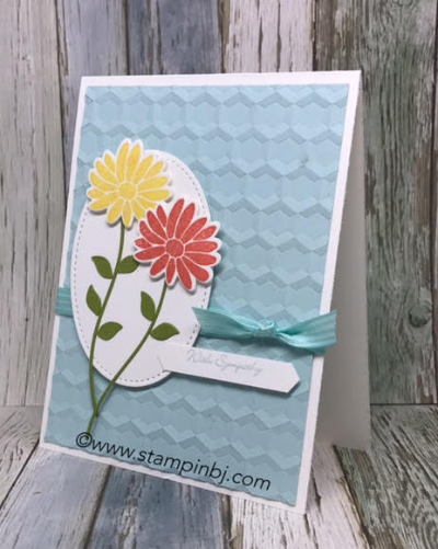 Special Reason, Stampin' Up!, #specialreason, #stylishstems, #hexagonhive, #teenytinywishes, #sympathycard, #stampinup, #stampinbj.com, #bjpeters, #stampinupdemonstrator