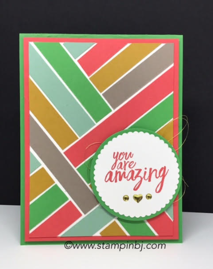 All Things Thanks, 2015-2017 In Colors, Stampin' Up!, #allthingsthanks, #stampinup, #Incolors, #2015-2017incolors, #stampinbj.com, #bjpeters, #thankyoucard, #stampinupdemo, #layeringcircles
