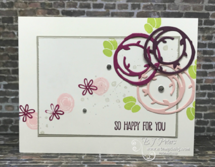 Stampers Dozen Blog Hop, Swirly Bird, Stampin' Up!, BJ Peters, #stampsersdozenbloghop, #bloghop, #stampinupbloghop, #swirlybird, #swirlyscribblesthinlits, #stampinbj.com, #bjpeters, #stampinupdemo, #diy, #papercrafting