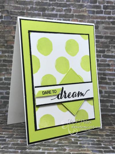 Dare to Dream, Stampin' Up!, OnStage, #daretodream, #stampinup, #bjpeters, #stampinbj.com, #sneakpeek, #diy, #stampinupdemonstrator, #papercrafting, #handstampedcard, #congratscard