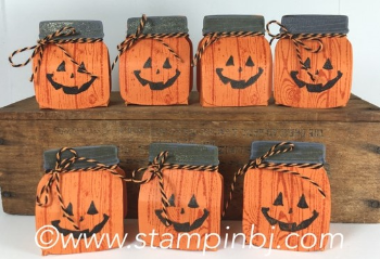 Everyday Jars Framelits, Stampin' Up!, BJ Peters, #everydayjarsframelits, #pumpkintreats, #halloweentreats
