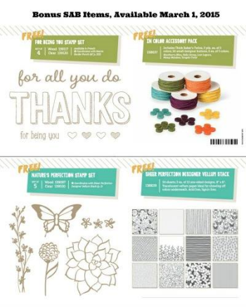 Stampin' Up!, BJ Peters, Sale-a-Bration
