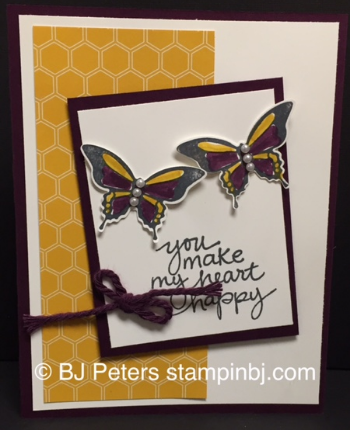 Stampin' Up!, BJ Peters, Lovely Amazing You, Moonlight, Nature's Perfection