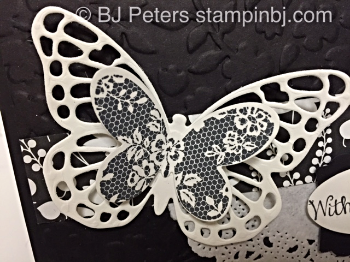 Stampin' Up!, BJ Peters, Butterfly Thinlits