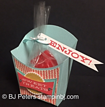 All About Sugar, Stampin' Up!, BJ Peters
