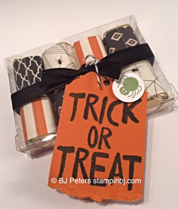 Howl-o-Ween Treat, Candy Treat, Stampin' up!, BJ Peters, Happy Haunting