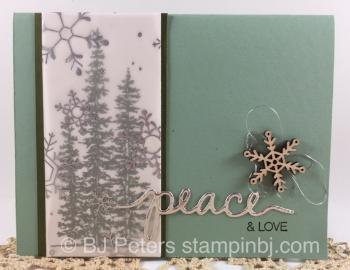 Wonderland, Holly Jolly Greetings, Christmas Greetings, Stampin' Up!, BJ Peters