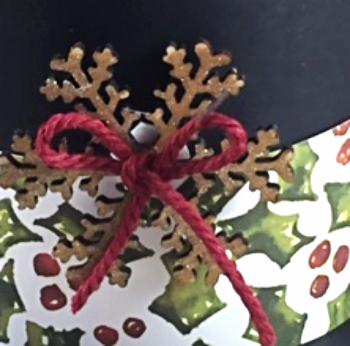 Snowflake Elements, Wink of Stella, Stampin' Up!, BJ Peters