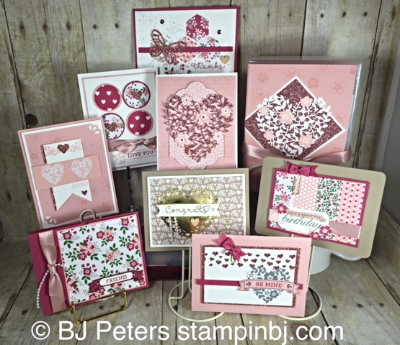 Love Blossoms, BJ Peters, Stampin' Up!,