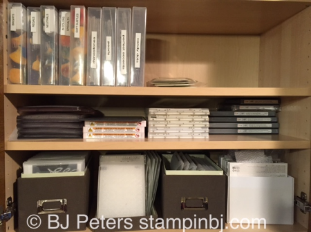 Craft Storage, Stampin' Up!,BJ Peters