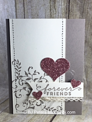 First Sight, Stampin' Up!, BJ Peters, Blushing Bride, Occasions, Blog Hop