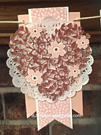 Love Blossoms, Stampin' Up!, BJ Peters, Bloomin' Heart, Bloomin' Love