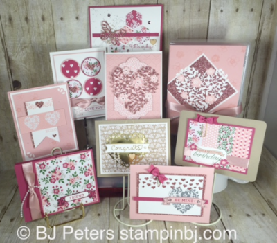 Love Blossoms Card Box, Stampin' Up!, BJ Peters, Bloomin' Love