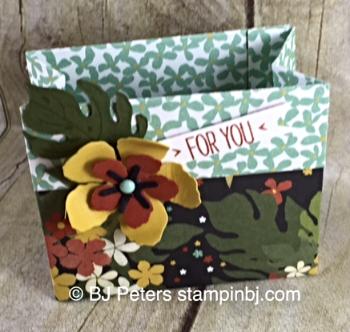 Botanical Blooms, Botanical Garden, Stampin' Up!, BJ Peters, treat bag