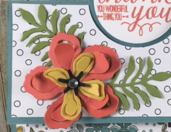 Wildflower fields, Botanical Blooms, Specialty Fold, Stampin' up!, BJ Peters