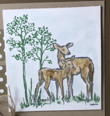 In the Meadow, Stampin' Up!, BJ Peters, Blog Hop, Masculine cards,