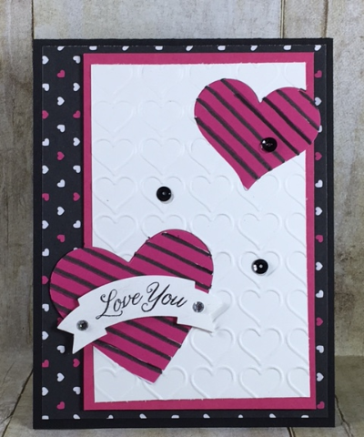 Gift of Love, Sweet & Sassy framelits, Pop of Pink Specialty designer series paper, Stampin' Up!, BJ Peters, #bjpeters, #stampinbj