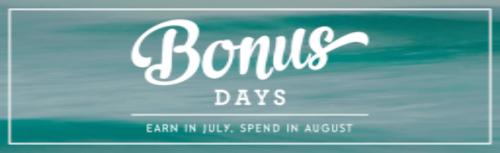Bonus days, Stampin' Up!, BJ PEters, Sale,