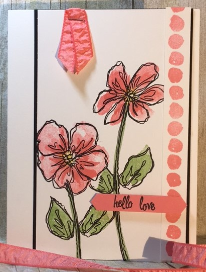 Penned & Painted, Blog Hop, Stampin' Up!, Stamping Techniques, 2 step stamping, BJ Peters, #penned&painted, #stampingtechniques, #bloghop, #2stepstamping, #bjpeters, #stampinbj.com