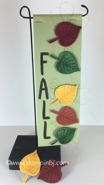 Vintage Leaves, Stampin' Up!, BJ Peters, Layered Letters, #vintageleaves, #layeredletters, #stampinup, #banner, #bjpeters, #stampinbj.com