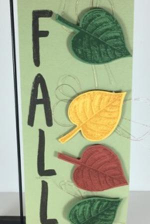 Vintage Leaves, Layering Letters, Stampin' Up!, BJ Peters, #vintageleaves, #falldecor, #layeringletters, #stampinup, #bjpeters, #stampinbj.com