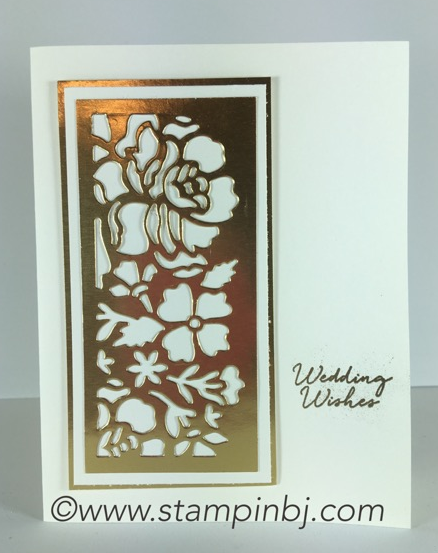 Floral Phrases, Detailed floral thinlits, Stampin' Up!, BJ Peters, #floralphrases, #detailedfloralthinlits, #bjpeters, #stampinbj.com,