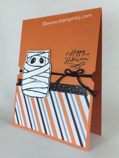 Jar of Haunts, Halloween Night, Stampin' up!, BJ Peters, #jarofhaunts, #halloweennight, #bjpeters, #stampinbj.com, #halloweencard