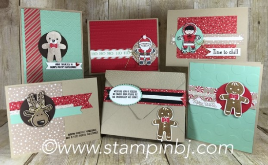 Cookie Cutter Christmas, Stampin' Up!, BJ Peters, #stampinupclasses, #stampingclass, #classinthemail, #cookiecutterchristmas, #stampinbj.com