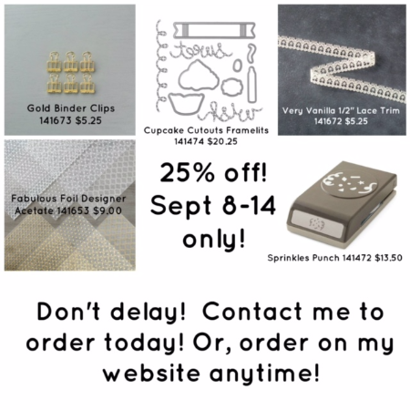 Stampin' Up!, Special, Weekly Deals,