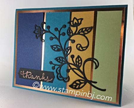 Flourishing Phrases, Flourish, Stampin' Up!, BJ Peters, #flourishingphrases, #flourishthinlits, #bjpeters, #stampinbj.com, #bloghop