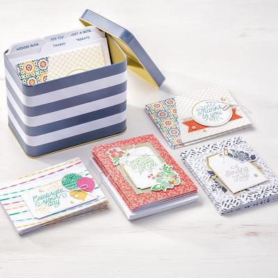 Designer Tin of Cards, Stampin' Up!, BJ PEters, #designertinofcards, #stampinup, #stampinbj.com