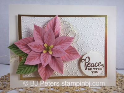 Reason for the season, Stampin' up!, BJ Peters, Christmas Card, #reasonfortheseason, #stampinup, #bjpeters, #staminbj.com, #christmascard, #flourishthinlits