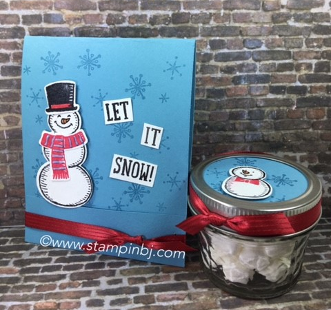 Snow Place, Snow Friends, Stampin' Up!, BJ Peters, #snowfriends, #snowplace, #stampinup, #stampinbj.com, #bjpeters