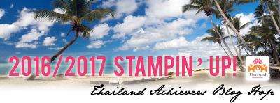 Blog Hop, Stampin' Up!, Thailand Achievers blog hop