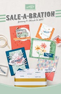 Sale-a-Bration, Stampin' Up!, BJ Peters