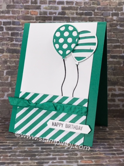 Balloon Adventure, Balloon Bouquet Punch, Stampin' Up!, #balloonadventures, #balloonbouquetpunch, #birthdaycard, #kidbirthdaycard, #stampinup, #bjpeters, #stampinbj.com, #stampinupdemonstrator, #stampinupdemo