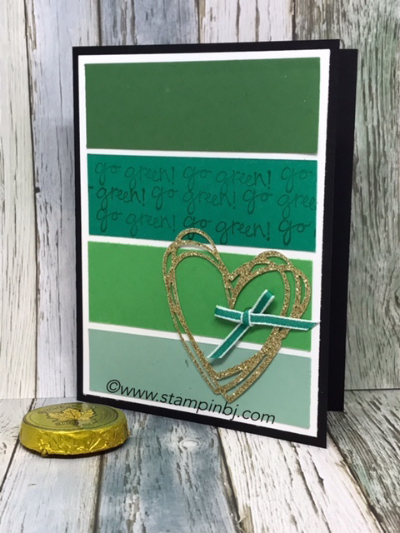 Greatest Greetings, Stampin' Up!, Sunshine Wishes, #greatestgreetings, #sunshinewishes, #stampinup, #stampinbj.com, #bjpeters, #stpatricksday, #stampinupdemonstrator, #handstampedcard, #rubberstamping