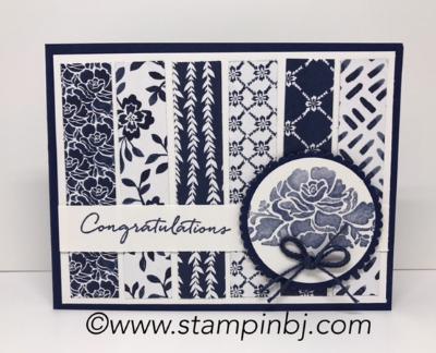 Floral Phrases, Floral Boutique, #bloghop, #stampinup, #stampinbj.com, #bjpeters, #stampinupdemonstrator, #birthdaycard, #handstampedcard, #cardclassinthemail, #floralboutique, #floralphrases