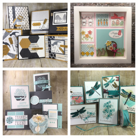 Stampin' Up!, BJ Peters, #stampinup, #bjpeters, #classesinthemail, #dragonflydreams, #nailedit, #easterframe, #basketbunch, #windowshopping.