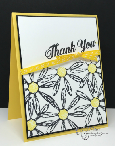 Daisy Delight, Stampin' Up!, BJ Peters, #daisydelight, #stampinup, #bjpeters, #thankyoucard, #sneakpeek, #stampinupdemo, #diy, #handstampedcard, #rubberstamping,